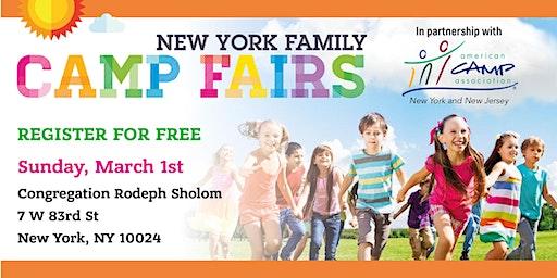 New York Family Camp Fair Upper West side