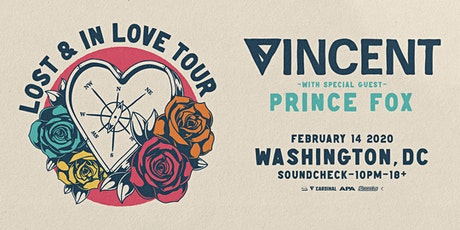 Vincent presents Lost & In Love Tour tickets