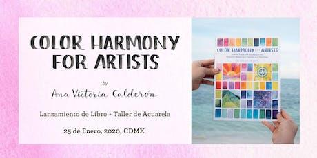 Taller de Acuarela: Armonía de Color para Artistas boletos