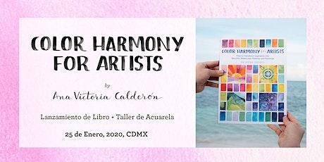 Taller de Acuarela: Armonía de Color para Artistas tickets