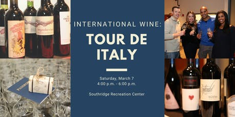 International Wine: Tour de Italy tickets