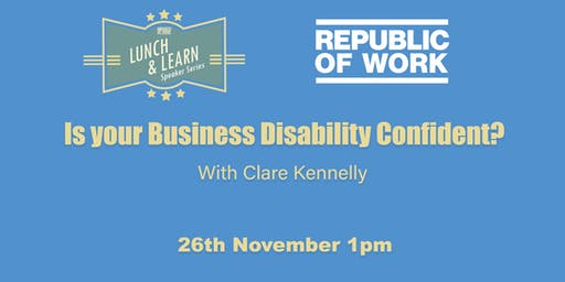 Is your Business Disability Confident?