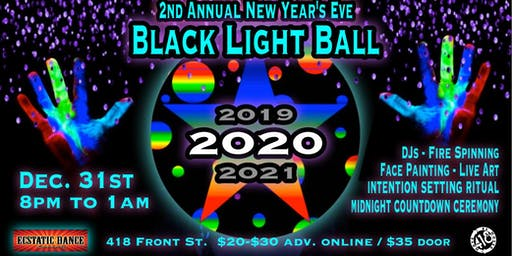 2nd Annual New Year's Eve Black Light Ball