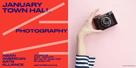 January Town Hall: Photography tickets