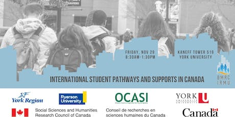 International Student Pathways and Supports in Canada tickets