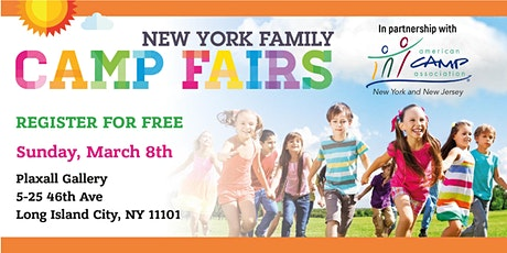 New York Family Camp Fair - Long Island City tickets