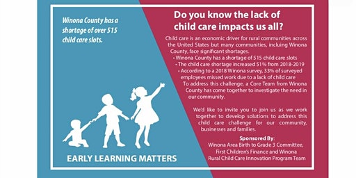 Winona County Child Care Townhall