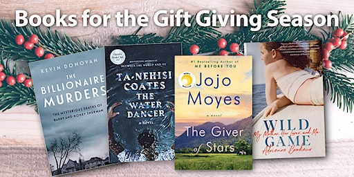Books for the Gift Giving Season at Woodbridge Library