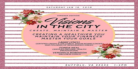Visions in the City ~ Create, Maintain and Master tickets
