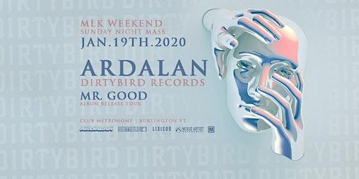 Ardalan Mr. Good Album Release Tour