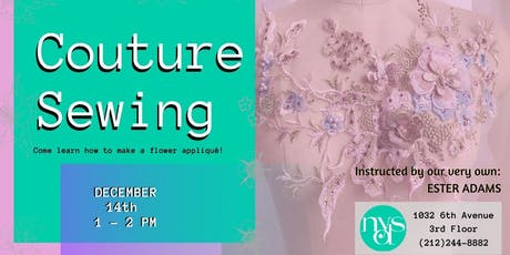 Couture Sewing tickets
