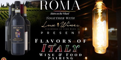 Flavors of Italy Wine & Food Pairing