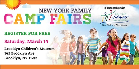 New York Family Camp Fair - Brooklyn tickets