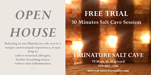 Open House in Trunature Salt Cave