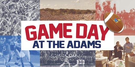 Game Day at the Adams // KU vs. Baylor