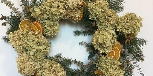 Workshop: Make Your Own Holiday Wreath!