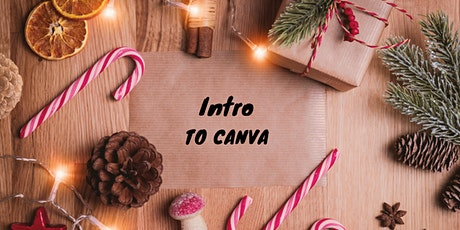Free Class: No Graphic Designer? No Problem! Intro to Canva for Business tickets