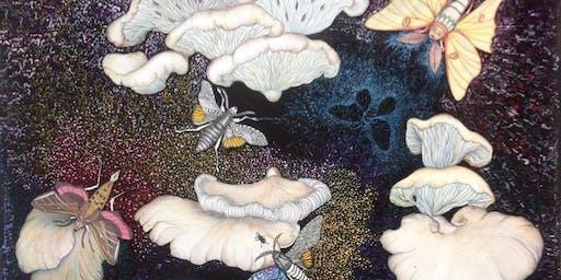 Atelier d'artisanat: Collage et peinture - Champignons en fête!