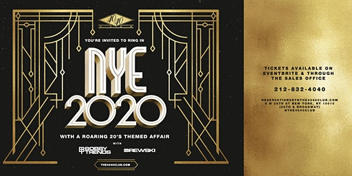 The 40/40 Club New Years Eve 20's Themed Bash - 2020