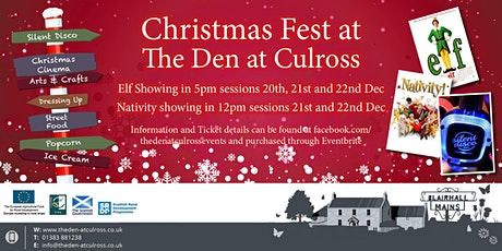 Christmas Fest at The Den at Culross tickets