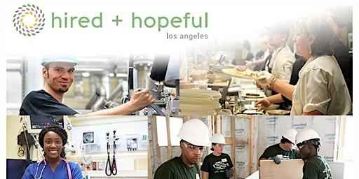 Hired + Hopeful Los Angeles Community Breakfast