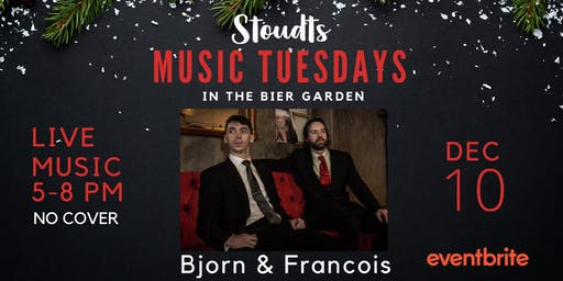 Stoudts Music Tuesday with Bjorn & Francois