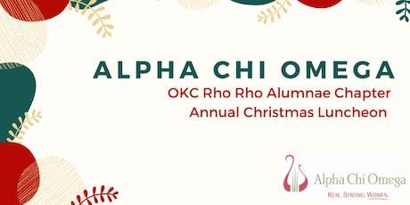 AXO OKC Rho Rho Alumnae Chapter's  Annual Christmas Luncheon tickets
