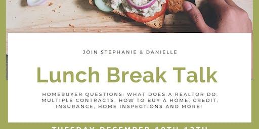 Lunch Break Talk