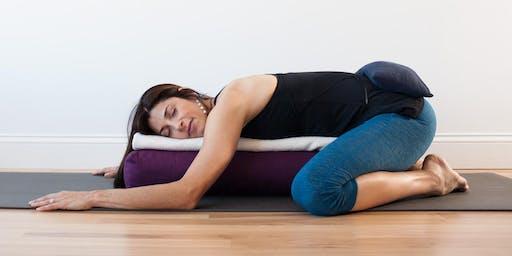 Yin Yoga + Restorative + Nidra