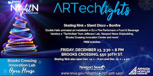 ARTech Lights- NlightN Bayport Credit Union Holiday Event Series