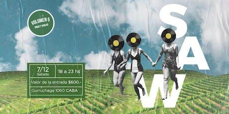 SAW Festival de Vinos y Vinilos entradas