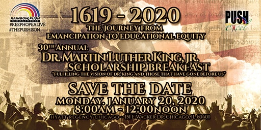 2020 PUSH Excel Dr. Martin Luther King, Jr. Scholarship Breakfast