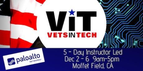 VetsinTech Cybersecurity Training by Palo Alto Networks Moffet Field tickets