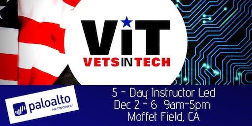 VetsinTech Cybersecurity Training by Palo Alto Networks Moffet Field