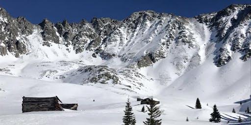 Women's Mayflower Gulch snowshoe adventure hike