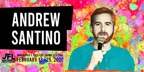 Andrew Santino - The Red Rocket Tour tickets