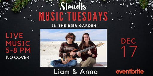 Stoudts Music Tuesday with Liam & Anna