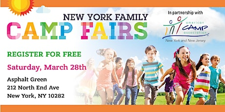 New York Family Camp Fair - Tribeca tickets
