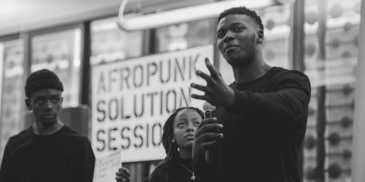 AFROPUNK SOLUTION SESSIONS JOBURG 2019