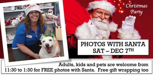 Ace Christmas Party - Free Photos With Santa