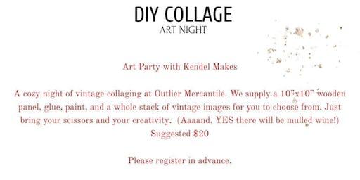 DIY Art Night Collage