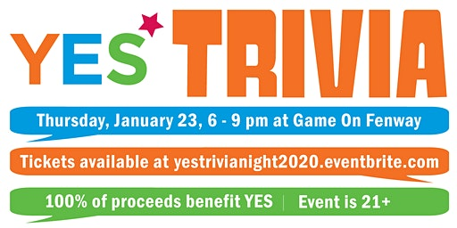 8th Annual Trivia Night to Benefit YES