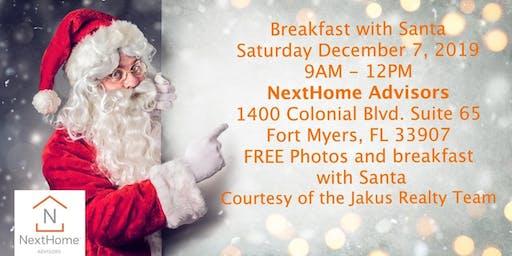 Breakfast & Photos with Santa