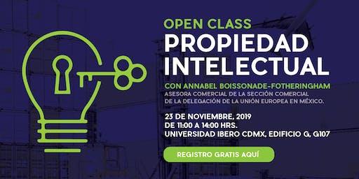 Open class: Propiedad intelectual