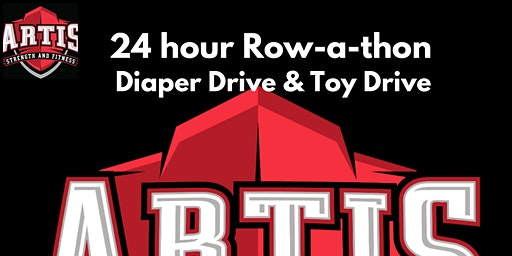 2nd Annual 24 Row-a-Thon (Diaper & Toy Drive)