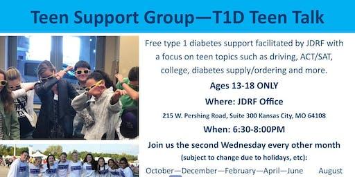 T1D Teen Talk - Social