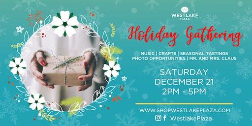 Holiday Gathering at Westlake Plaza