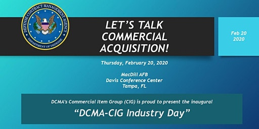 DCMA Commercial Item Group Industry Day