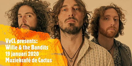 Wille and the bandits, live @decactus in Hengelo tickets