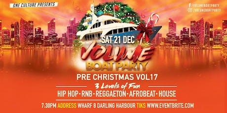 Volume Boat Party Pre Xmas Vo18 tickets